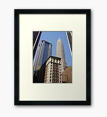 New York Streetscape Framed Print