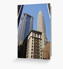 New York Streetscape Greeting Card