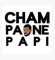 Champagne Papi - Drake Photographic Print