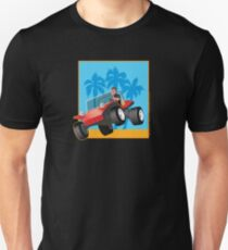 Dune Buggy Jump over Dune Unisex T-Shirt