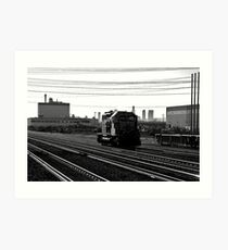 Lonely track ... Art Print