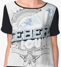 The Iceberg Lounge Women's Chiffon Top