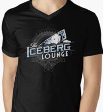 The Iceberg Lounge Men's V-Neck T-Shirt