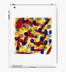 BLUE MARBLES iPad Case/Skin
