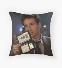 Mulder, Fox Mulder Throw Pillow