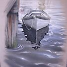 Boat in Water by anton