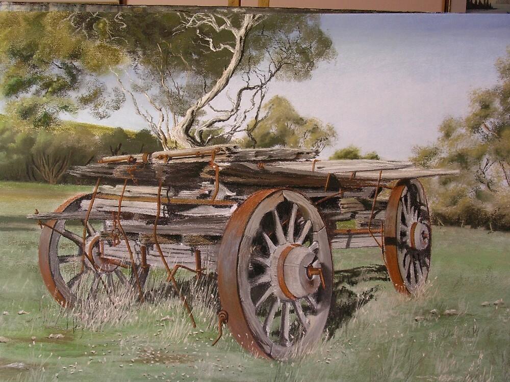 Logging Wagon by anton