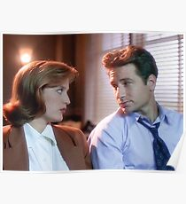 Póster Mulder y Scully
