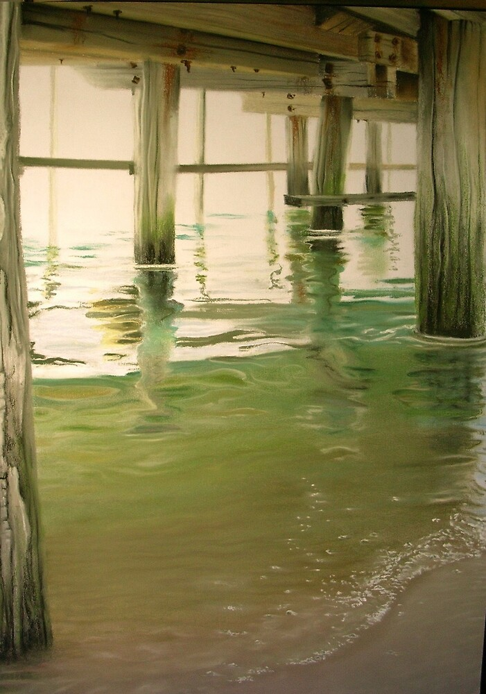 Under Port MacDonnell Jetty by anton
