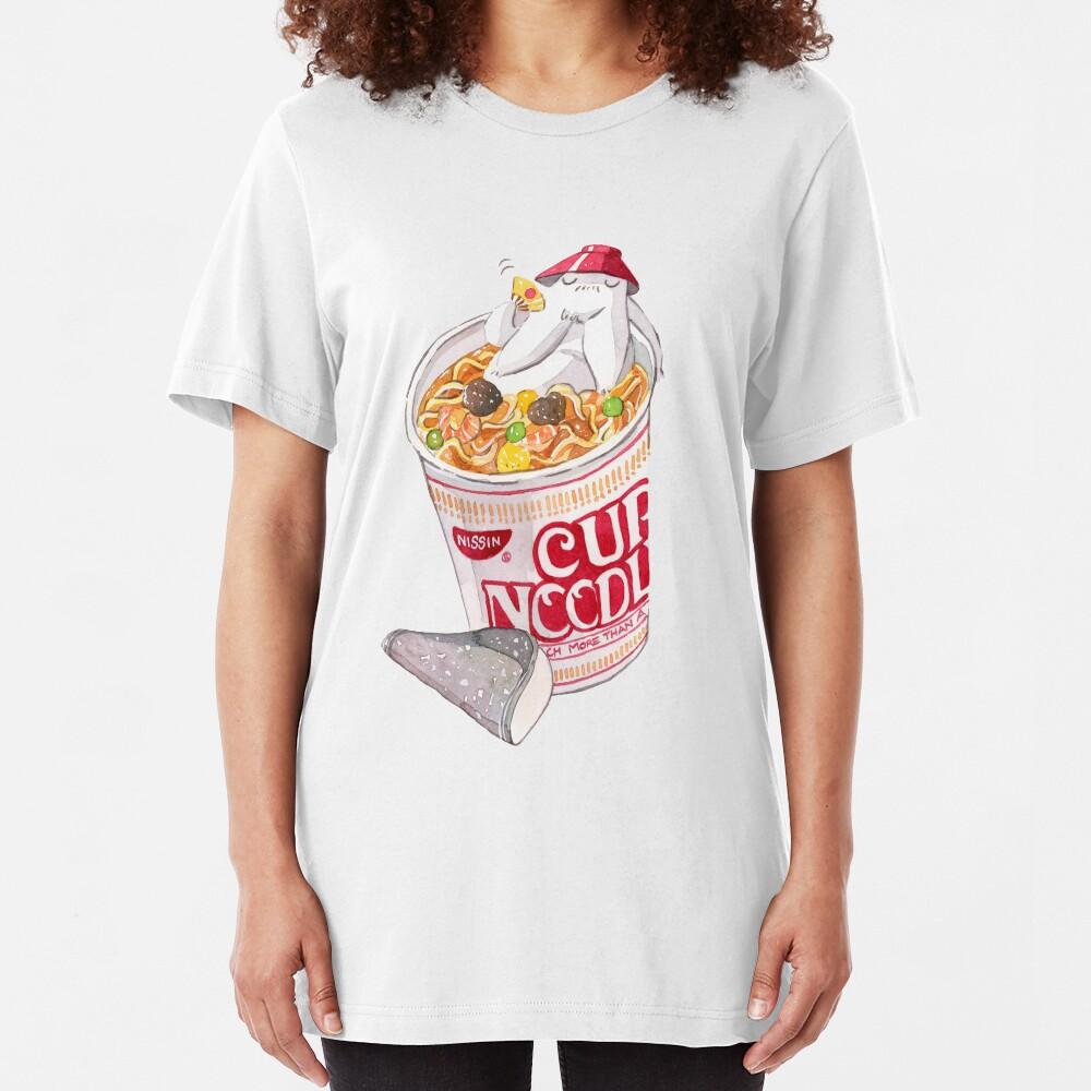 Radish Spirit Cup Noodle Slim Fit T-Shirt