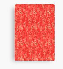 Red Scissors Canvas Print