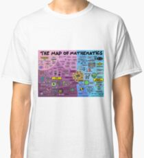 The Map of Mathematics Classic T-Shirt