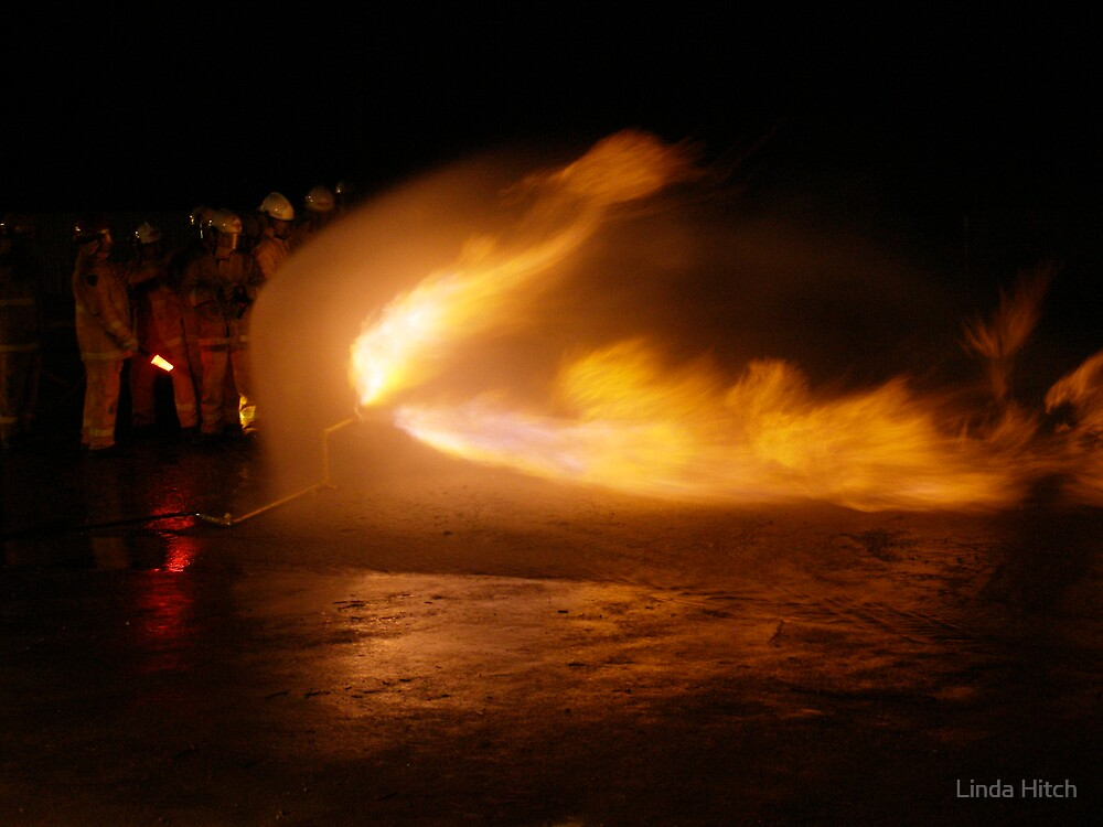 gas fire exercise by Linda Hitch