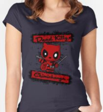 Dead Kitty Women's Fitted Scoop T-Shirt