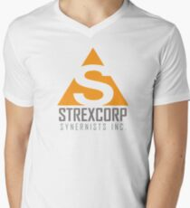 Strexcorp Synergists INC. Men's V-Neck T-Shirt
