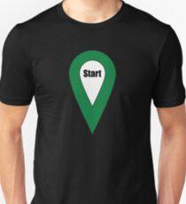 Start Here Couple or Kids Exploring Unisex T-Shirt