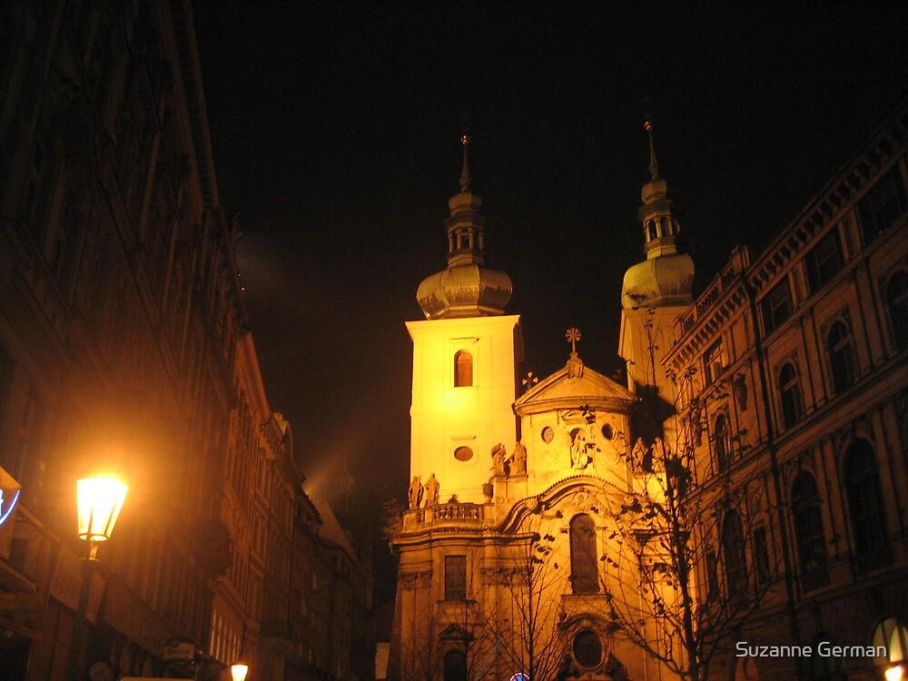 Evening Prague by Suzanne German