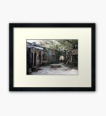 Wimberly, TX Framed Print
