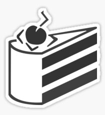 The cake is a lie. Sticker