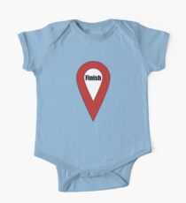 Finish Here Couple or Kids Exploring One Piece - Short Sleeve