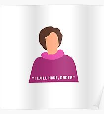 Dolores Umbridge Poster