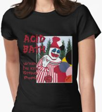Acid Bath - When the Kite String Pops Women's Fitted T-Shirt