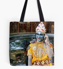 lord krishna Tote Bag