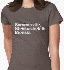 Bronski Beat [line-up] Womens Fitted T-Shirt