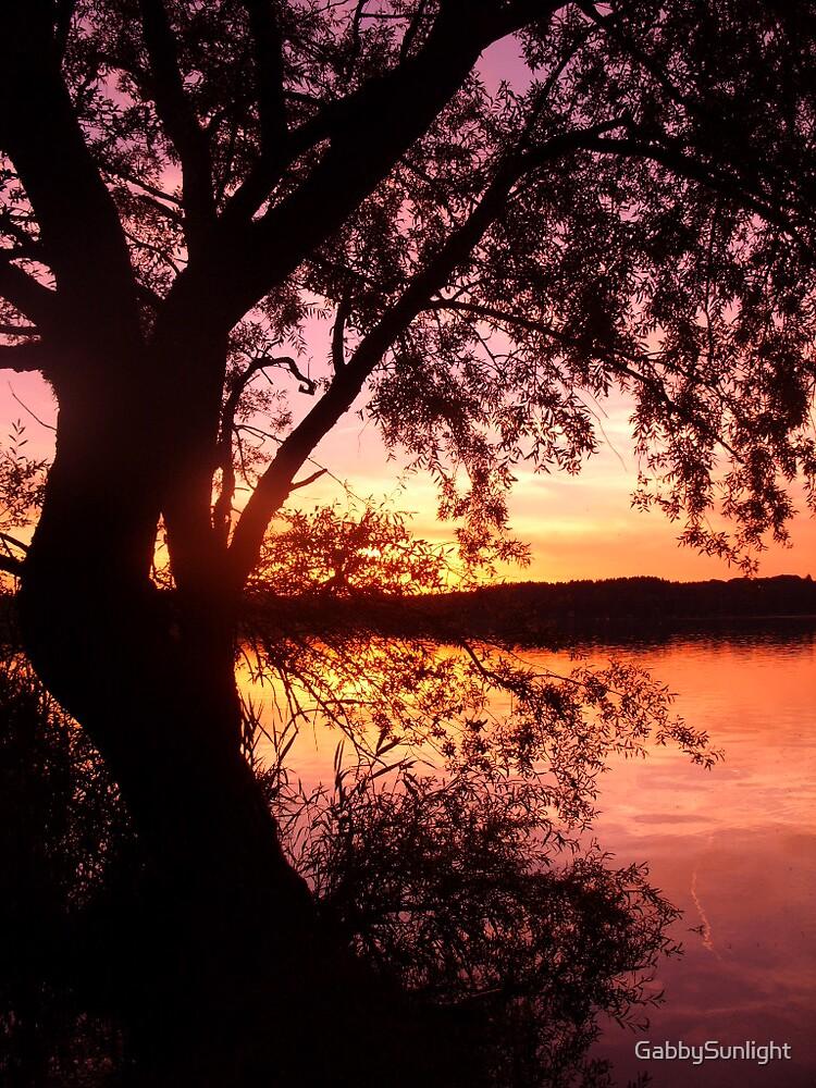 Soft Light Lake by GabbySunlight