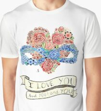Poly Valentine Graphic T-Shirt