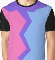Bisexual - Lightning Strike Graphic T-Shirt