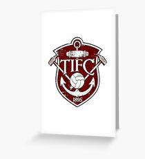 Thames Ironworks FC - West Ham United Vintage Greeting Card