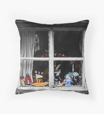 Squatters Toys Throw Pillow