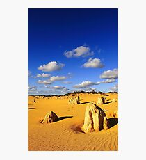 Pinnacles - Western Australia  Photographic Print