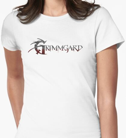 Grimmgard RPG Title Womens Fitted T-Shirt