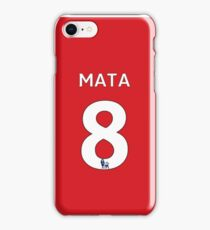 Juan Mata 8 iPhone Case/Skin