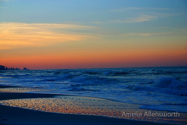 Beach by Amelia Allensworth