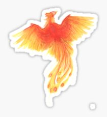 Rising From The Ashes Sticker