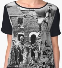 Crass - the Feeding of the 5000, Flight or Drive? Survive, the Second Sitting, Anarchy and Peace Chiffon Top