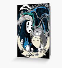 Spirits Greeting Card