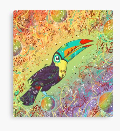 Toucan Can Do it! Canvas Print