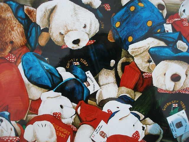 guernsey teddies by robbie