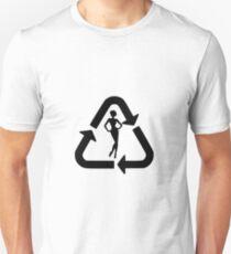 Recycle - Women II (black) Unisex T-Shirt