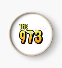 The 973 (yellow) Clock