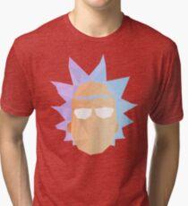 Geometric Rick Sanchez Tri-blend T-Shirt