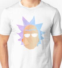 Geometric Rick Sanchez Unisex T-Shirt