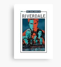 riverdale tv series Canvas Print