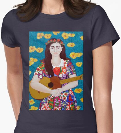 Violeta Parra and the song The gardener  T-Shirt