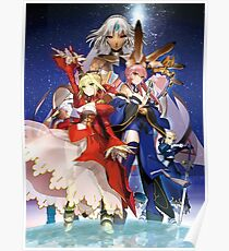 Fate/Extella: The Umbral Star Poster
