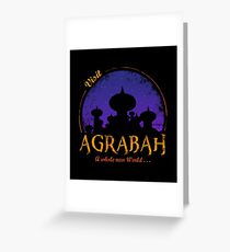 Visit Agrabah Greeting Card